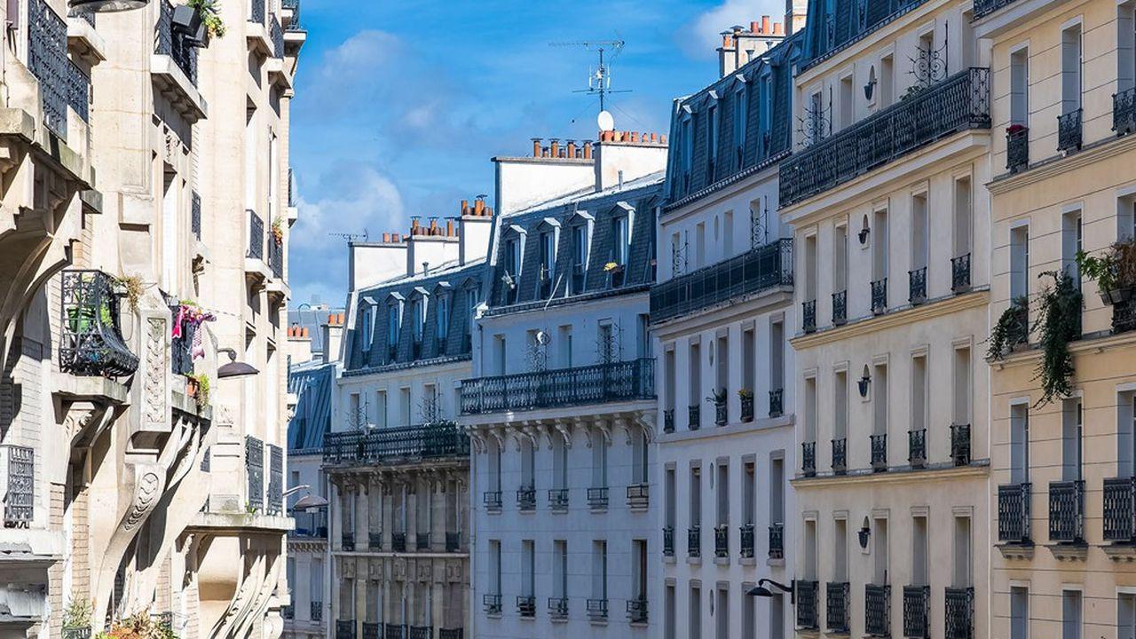 Le prix du mètre carré parisien est revenu à son niveau de fin 2019 soit 10.350euros pour un appartement dans l'ancien.