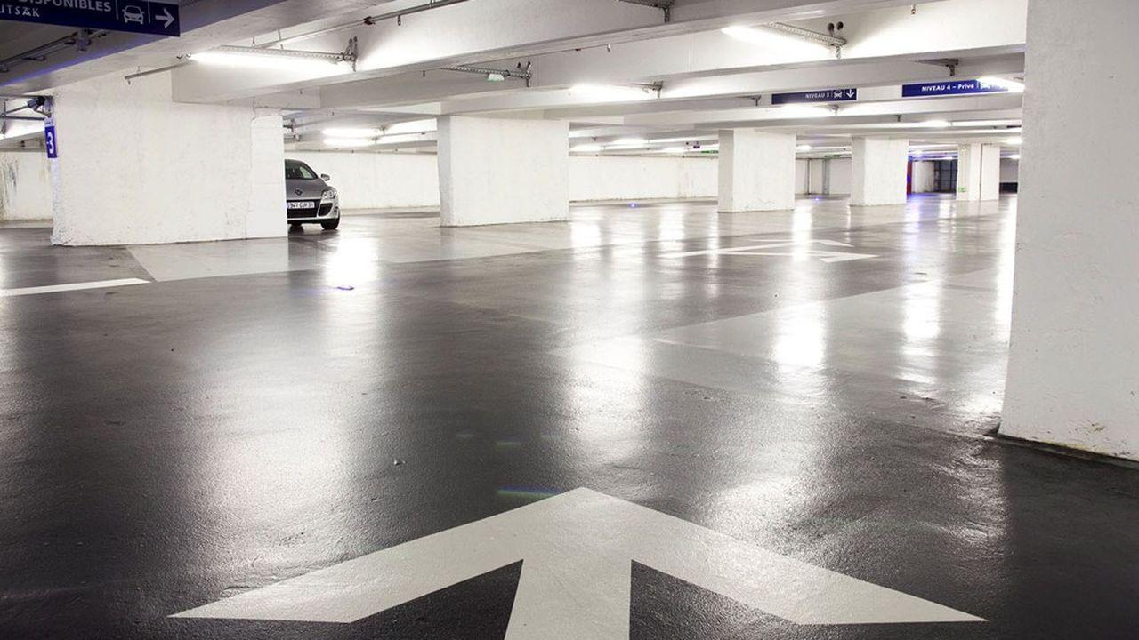 Conséquence de la démotorisation des déplacement, certains parkings souterrains se vident.