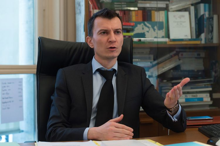 Sébastien Abis, directeur du Club Demeter, chercheur associé à l'Institut des relations internationales et stratégiques (Iris).