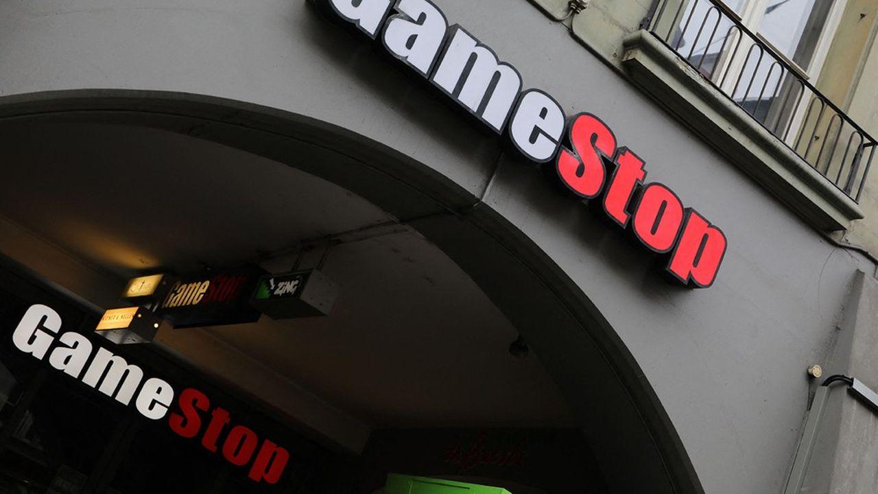 L'action GameStop est retombée comme un soufflet ces derniers jours: à près de 100dollars en fin d'après-midi mardi, elle a déjà abandonné plus de 70% par rapport à son point haut.