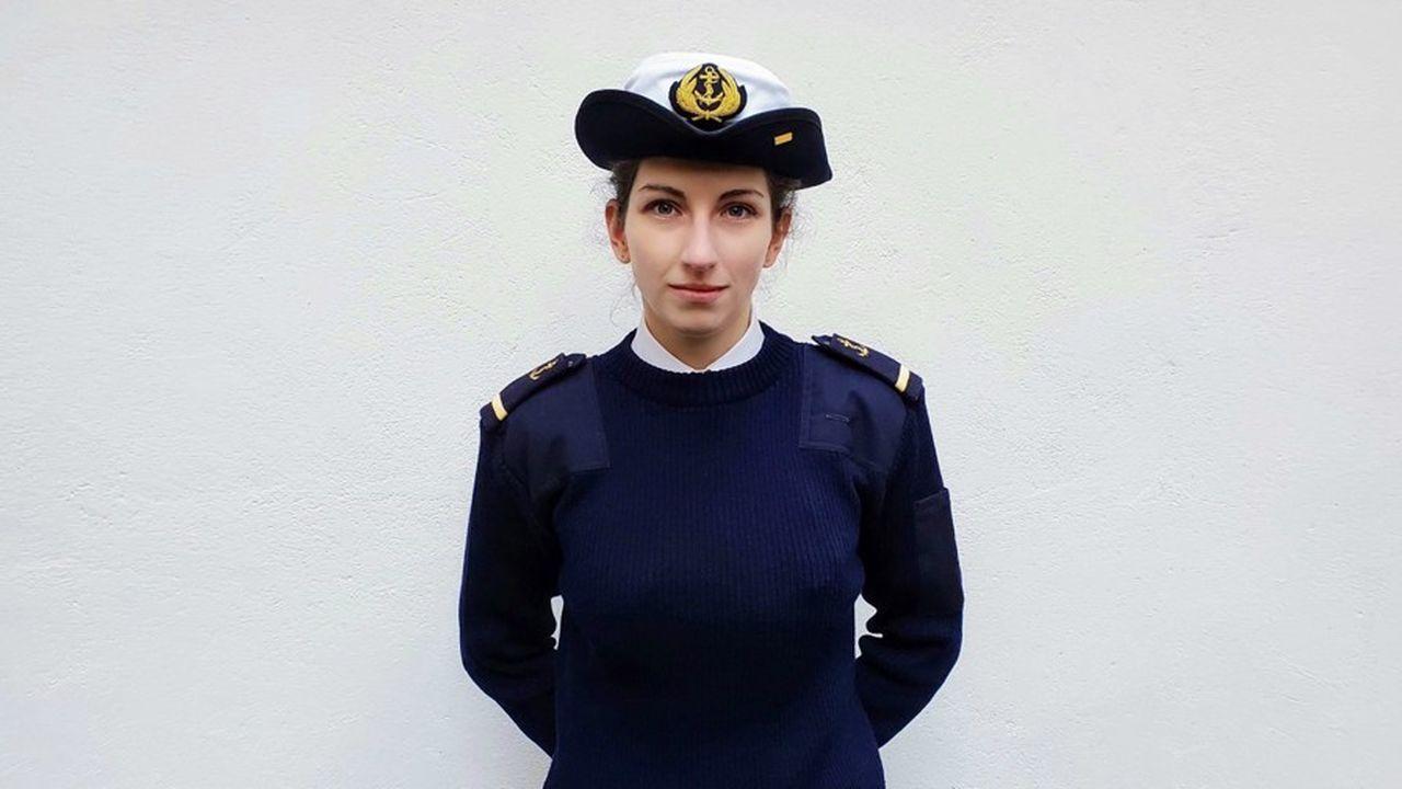 Alexia Boutantin-Sandron travaille sept semaines par an pour la réserve.
