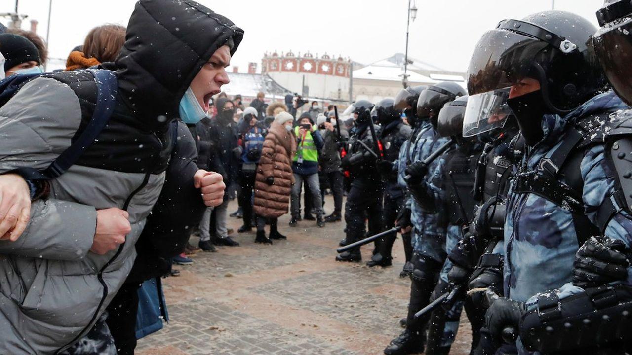 Les Européens et les Américains ont multiplié les appels à la libération immédiate d'Alexeï Navalny. En vain.