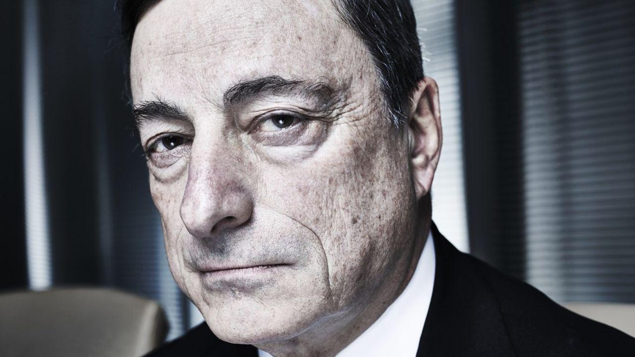 Mario Draghi, président de la Banque centrale européenne (BCE) de 2011 à 2019 (ici en 2014).