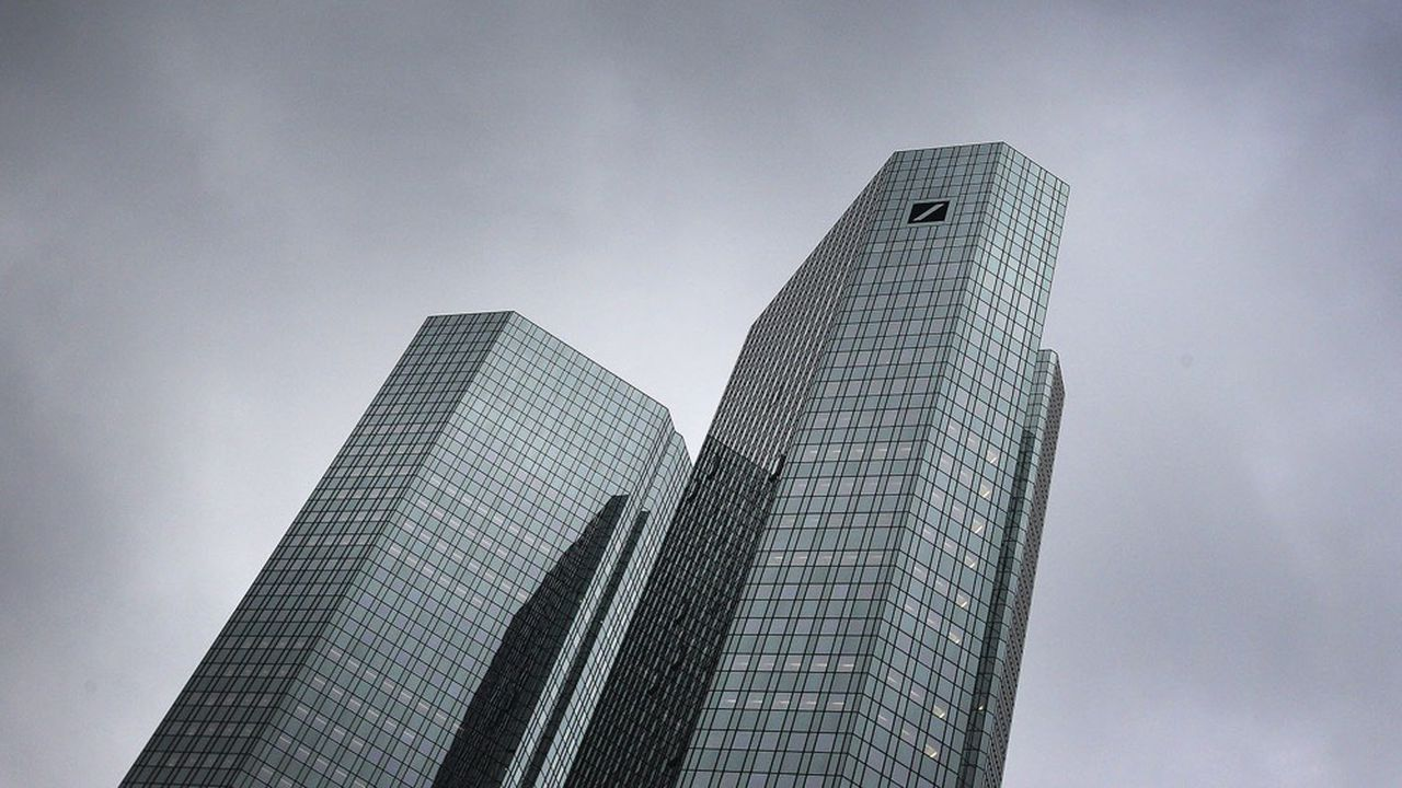Deutsche Bank voit l'avenir avec un « optimisme prudent ».