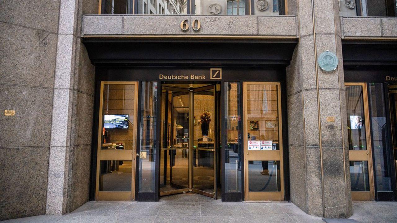 Deutsche Bank : sortie en toute discrétion pour l'ex-banquière de Donald Trump - Les Échos