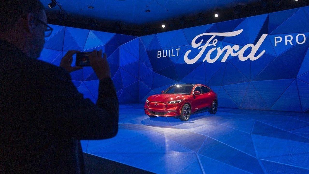 Ford a annoncé qu'il allait doubler ses investissements dans l'électrique.
