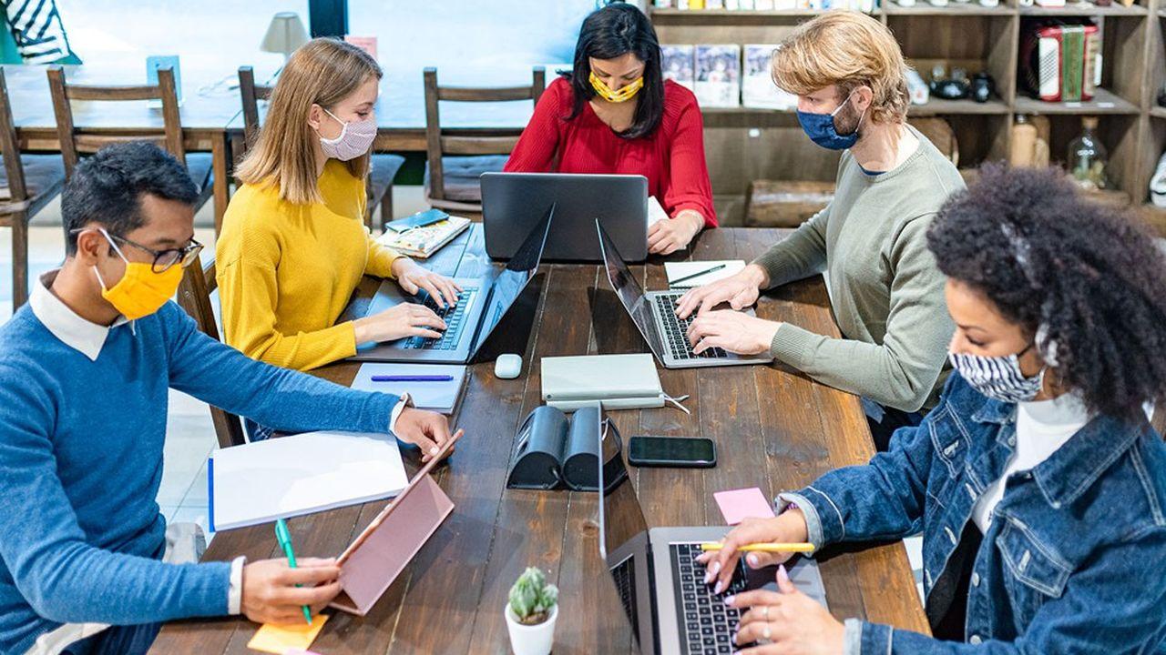 Le monde digital a beaucoup misé sur la qualité d'un environnement de travail attractif pour fidéliser ses talents. Or la crise sanitaire rebat les cartes.