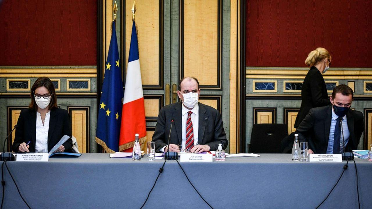 Jean Castex a tenu son premier Comité interministériel pour la transformation publique depuis son arrivée à Matignon.