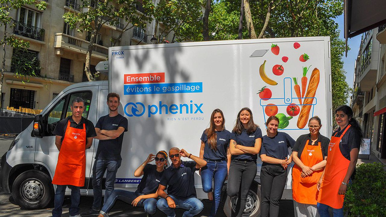 Equipe Phenix sur le terrain.