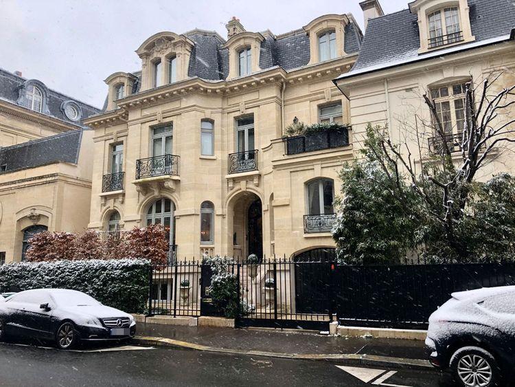 Une maison de 25millions d'euros dans le 16e arrondissement de Paris