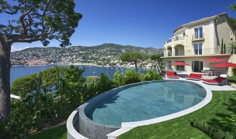 Une propriété de 20millions d'euros à Saint-Jean-Cap-Ferrat