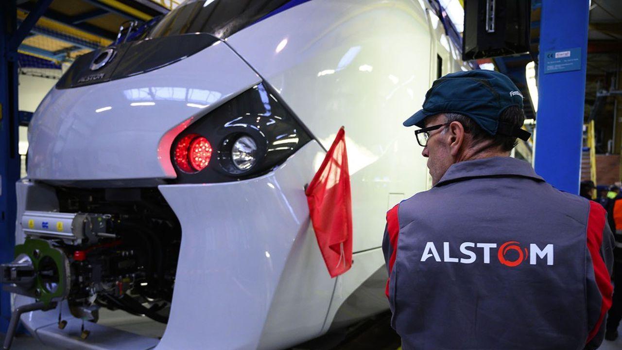 RER B : les dessous du bras de fer entre Alstom, la RATP et la SNCF - Les Échos