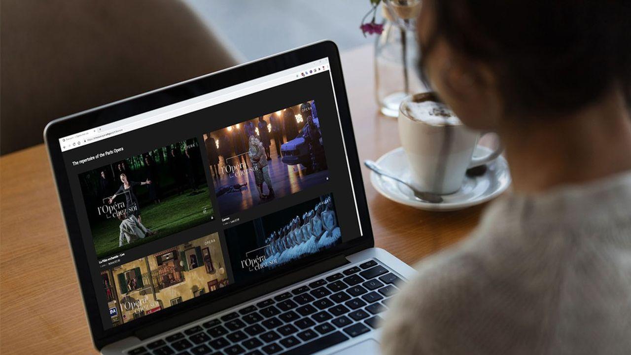 Plus de 13.700places ont été achetées pour regarder le ballet «La Bayadère» en ligne.