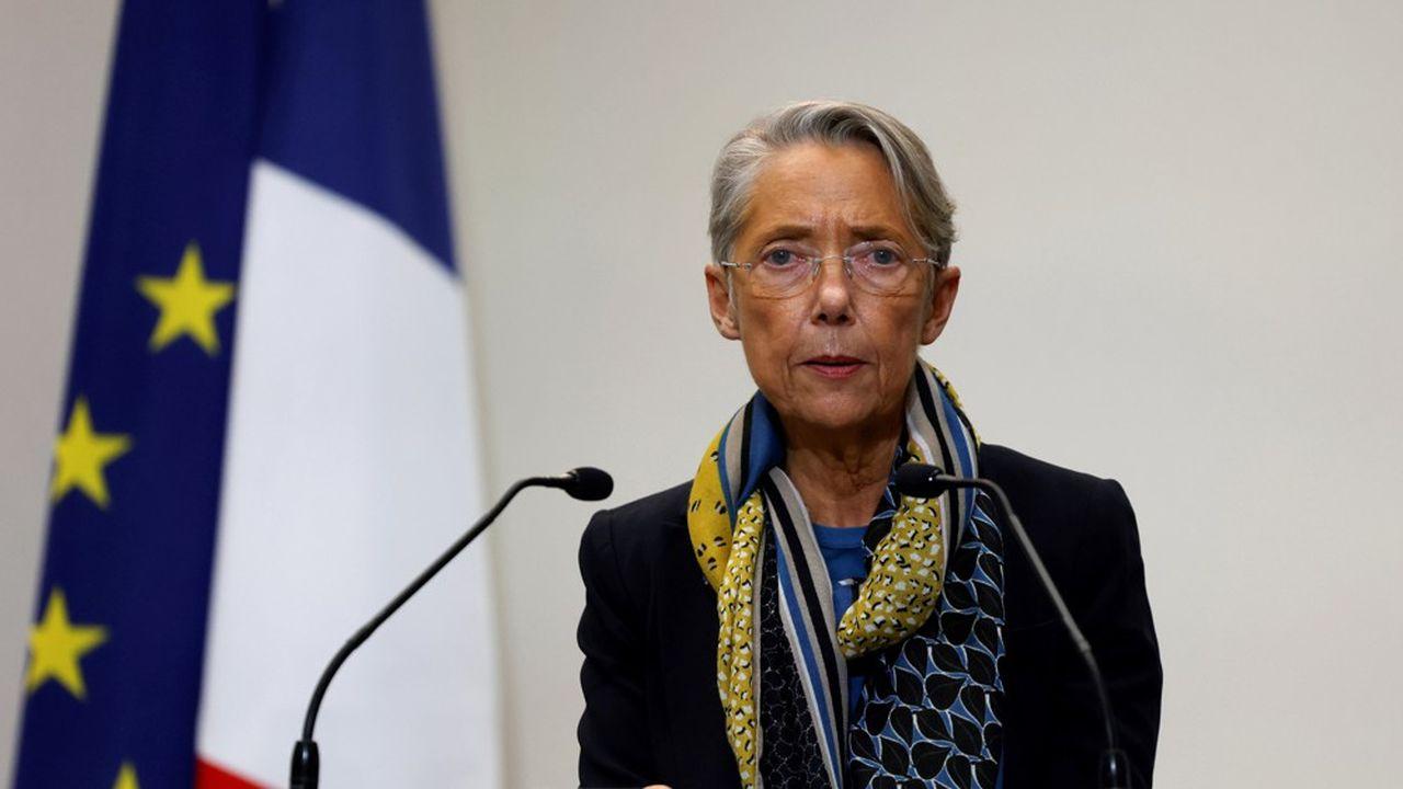 La ministre du travail, Elisabeth Borne.
