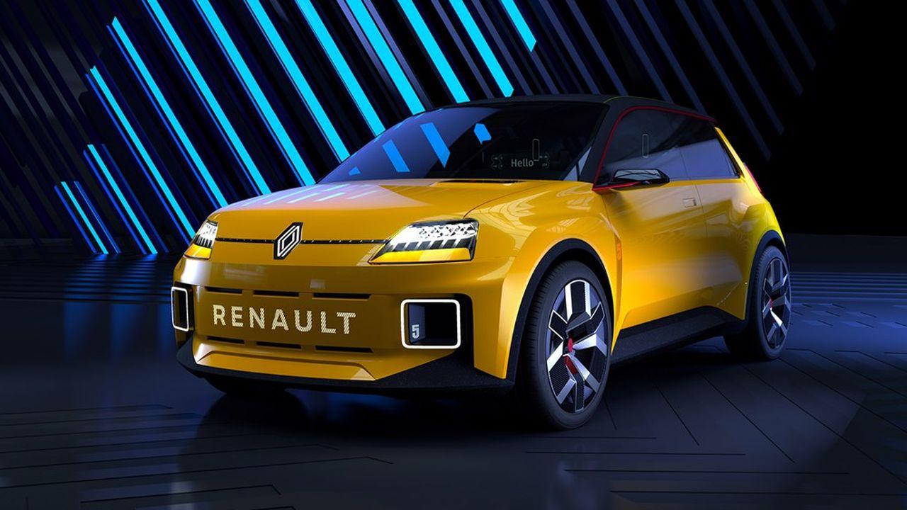 La Renault R5 électrique.