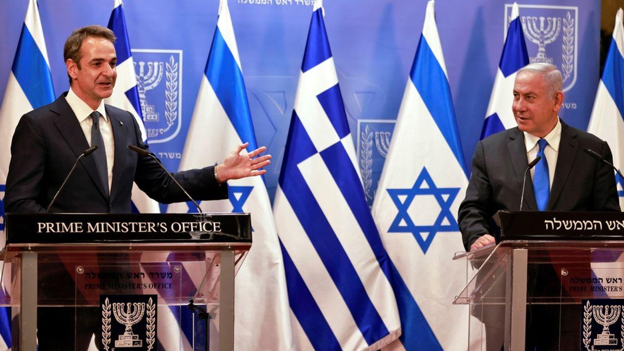 Le Premier ministre grec Kyriakos Mitsotakis souhaite renforcer les relations entre son pays et Israël.