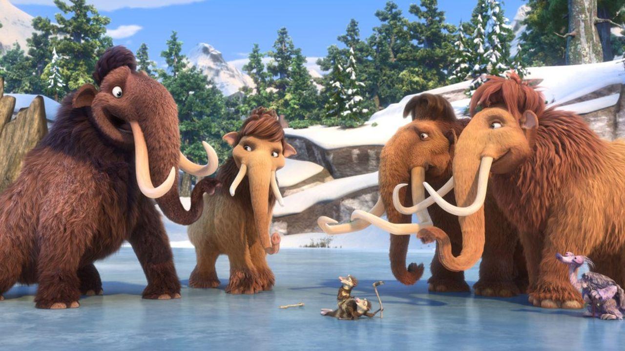 Le dernier opus de la franchise L'Age de glace est sorti en2016 au cinéma