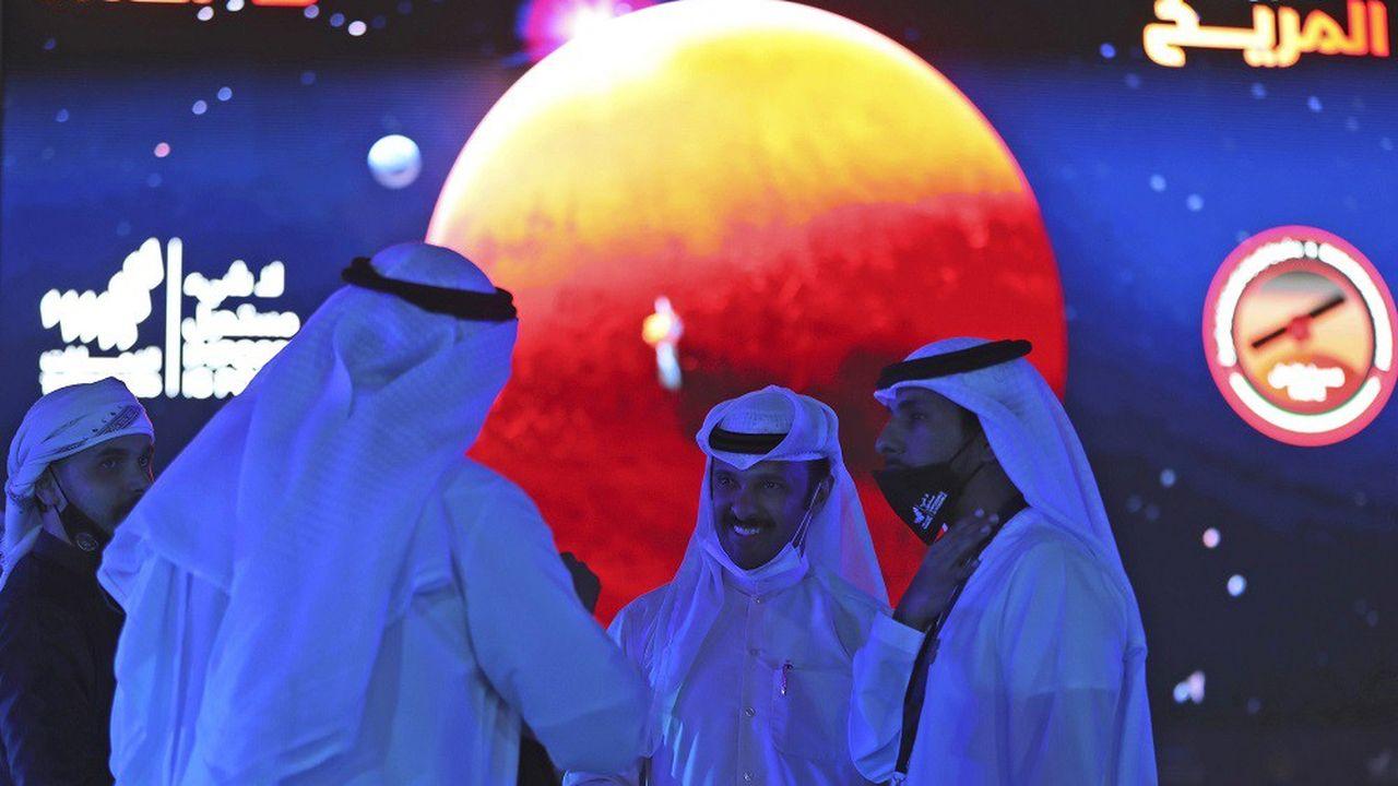 La sonde de la première mission interplanétaire arabe est entrée mardi en orbite autour de Mars.