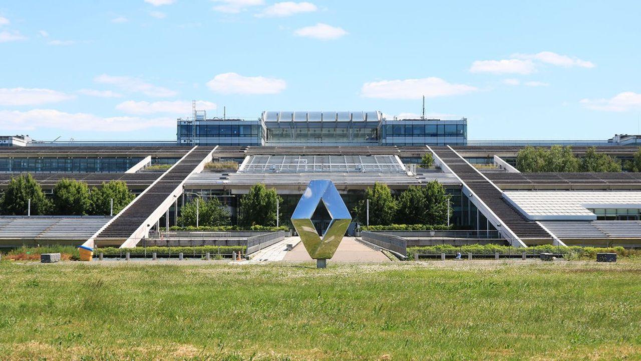 Renault a regroupé ses équipes dédiées au logiciel au sein d'une «Software factory», en partie basée au Technocentre de Guyancourt.