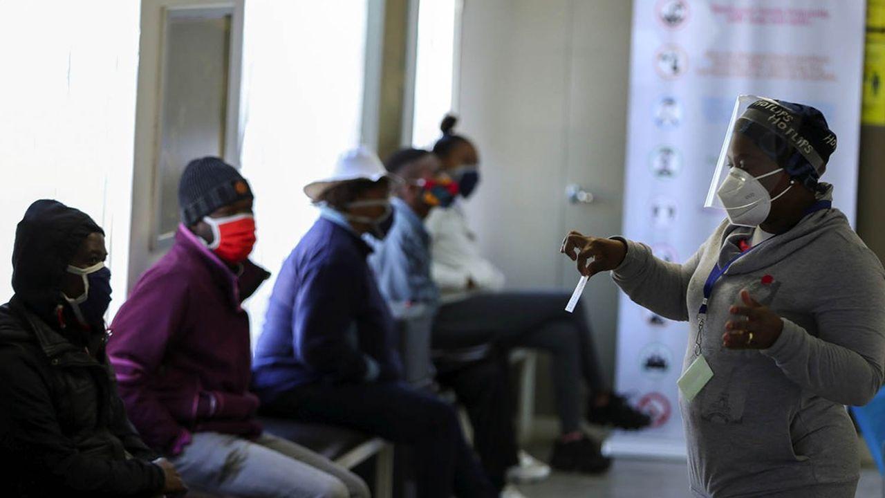 Hôpital Baragwanath à Soweto, en Afrique du Sud, le 24 juin 2020.