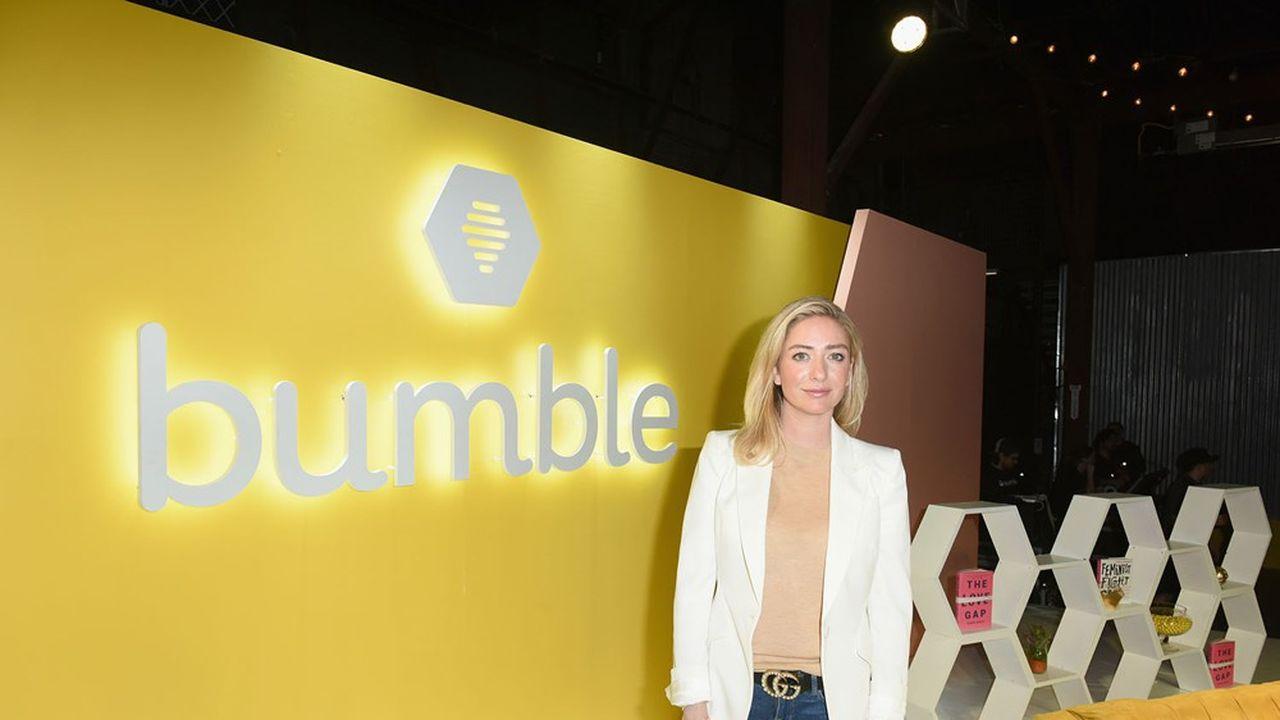 Elément moteur du succès fulgurant de Tinder dont elle est l'une des cofondatrices, Whitney Wolfe a lancé Bumble à la fin de l'année2014.