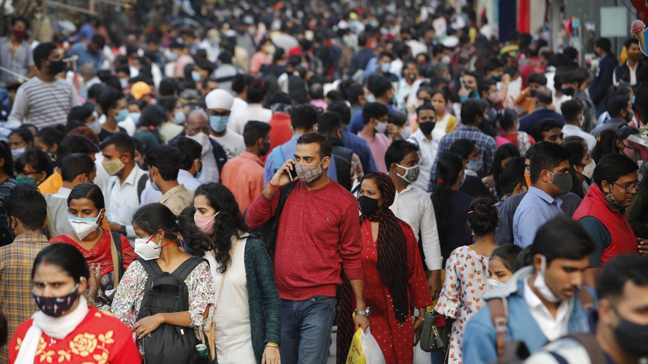 Recul spectaculaire de l'épidémie de Covid en Inde - Les Échos