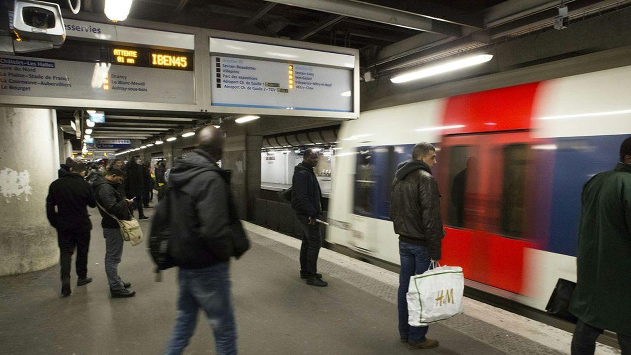 RER B : Alstom rentre dans le rang - Les Échos