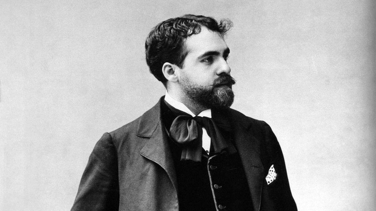 Reynaldo Hahn (1875-1947) compositeur francais d'origine venezuelienne photographié par Nadar en 1898.