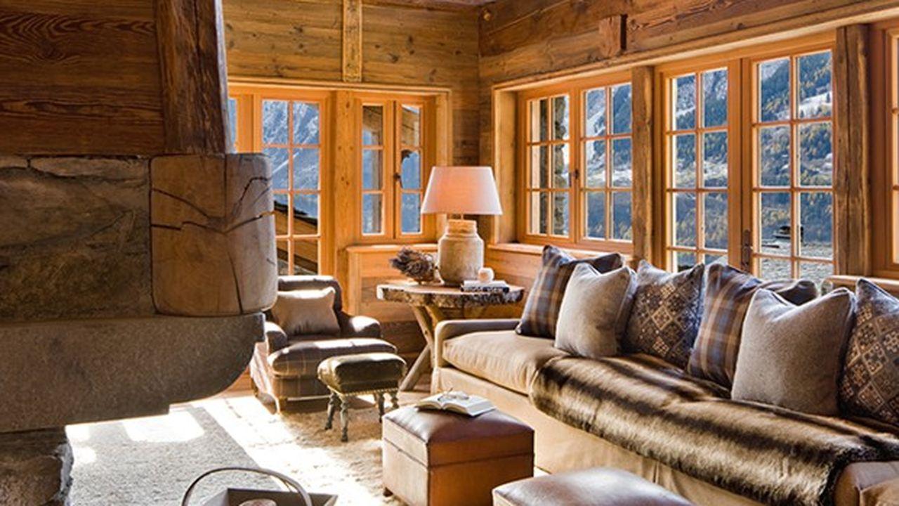 Le Chalet Pélerin, la montagne version grand luxe.