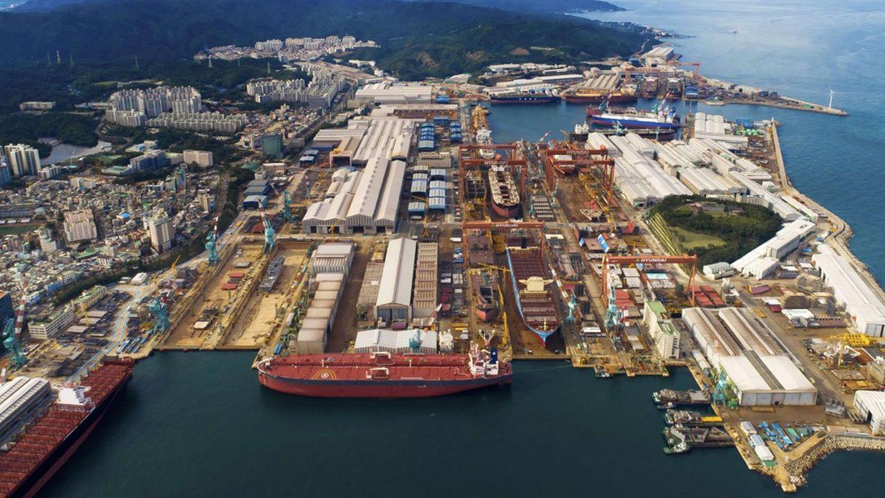 KSOE, qui regroupe trois chantiers sud-coréens, estime que ses commandes atteindront près de 15milliards de dollars en 2021