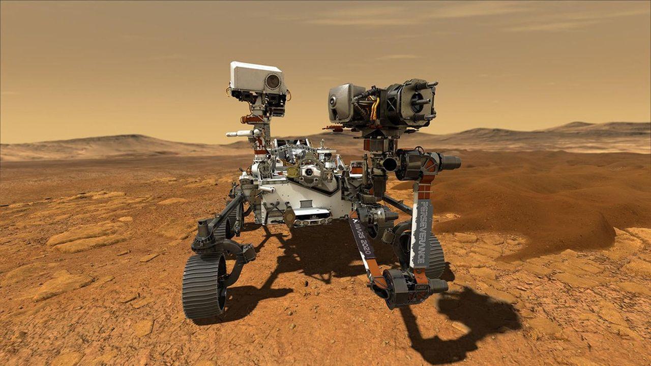 « L'histoire de l'exploration de Mars va bientôt connaître son apogée » - Les Échos