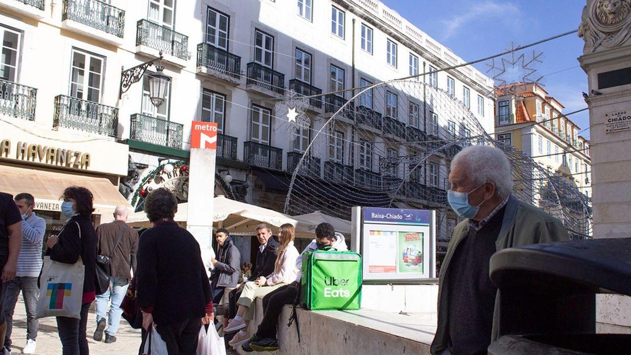 A Lisbonne, la capitale du Portugal, 19novembre 2020.