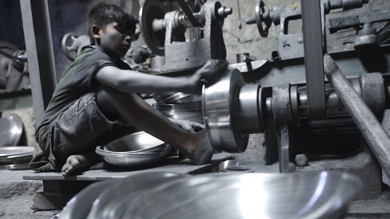 Selon l'Organisation internationale du travail (OIT), 152millions d'enfants dans le monde doivent travailler.