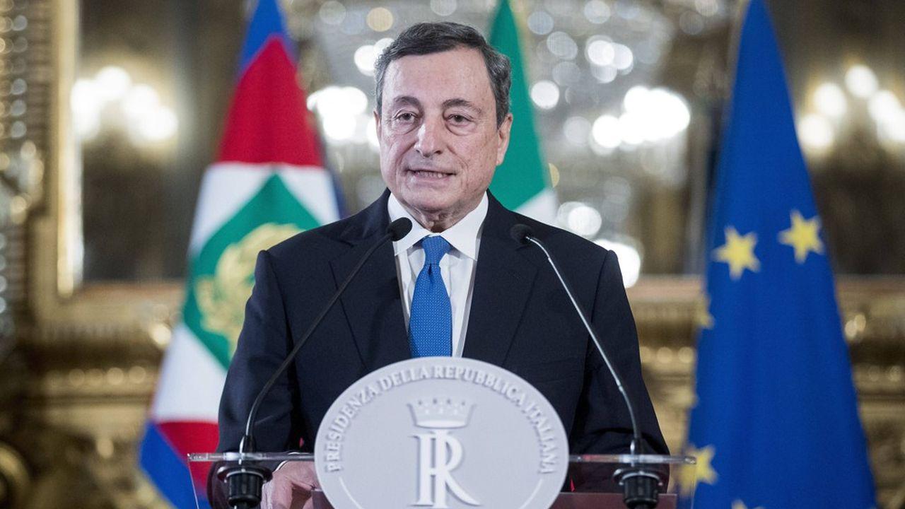 Mario Draghi a présenté vendredi soir au président de la République Sergio Mattarella la liste de son équipe.
