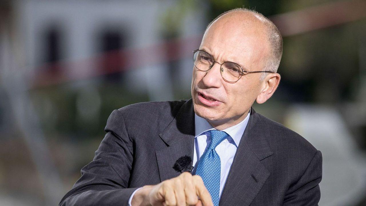 Enrico Letta, ancien président du Conseil italien, président de l'Institut Jacques Delors et doyen de la Paris School of International Affairs à Sciences-Po.