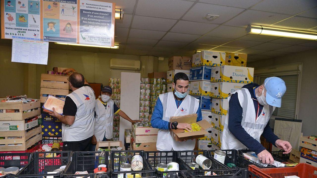 Quatre bénéficiaires d'une aide alimentaire sur cinq n'ont pas d'emploi.