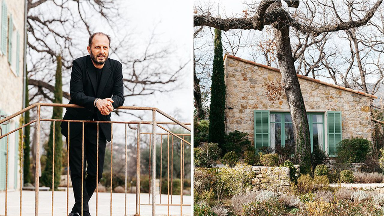 Fabrice Pellegrin, parfumeur principal et directeur de l'innovation des produits naturels chez Firmenich àla Villa Botanica àGrasse.