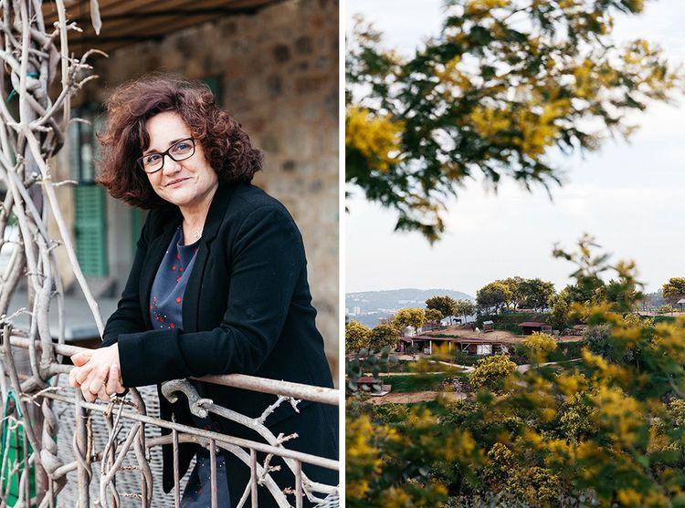 Brigitte Pellen, aromaticienne principale chez Firmenich à la Villa Botanica, à Grasse.