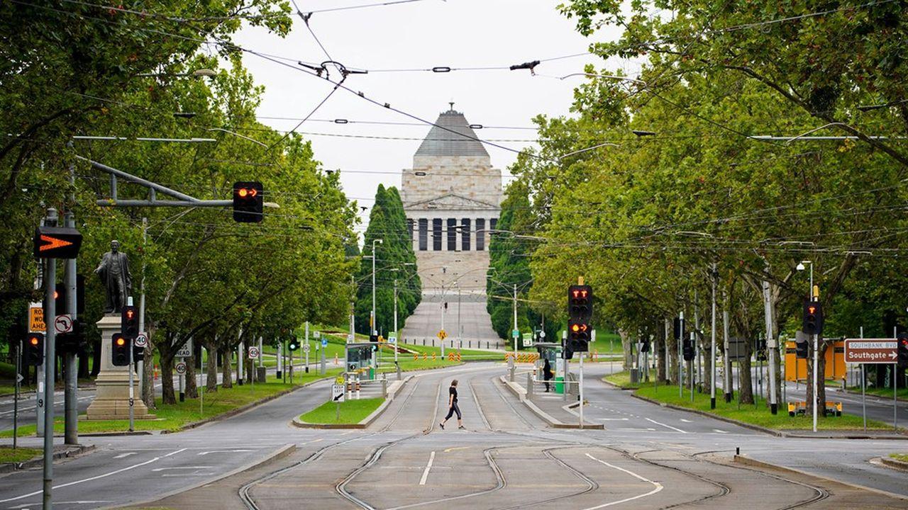 En Australie, 1,7million de personnes sont de nouveaux confinées après l'apparition d'un cluster dans l'Etat de Victoria.