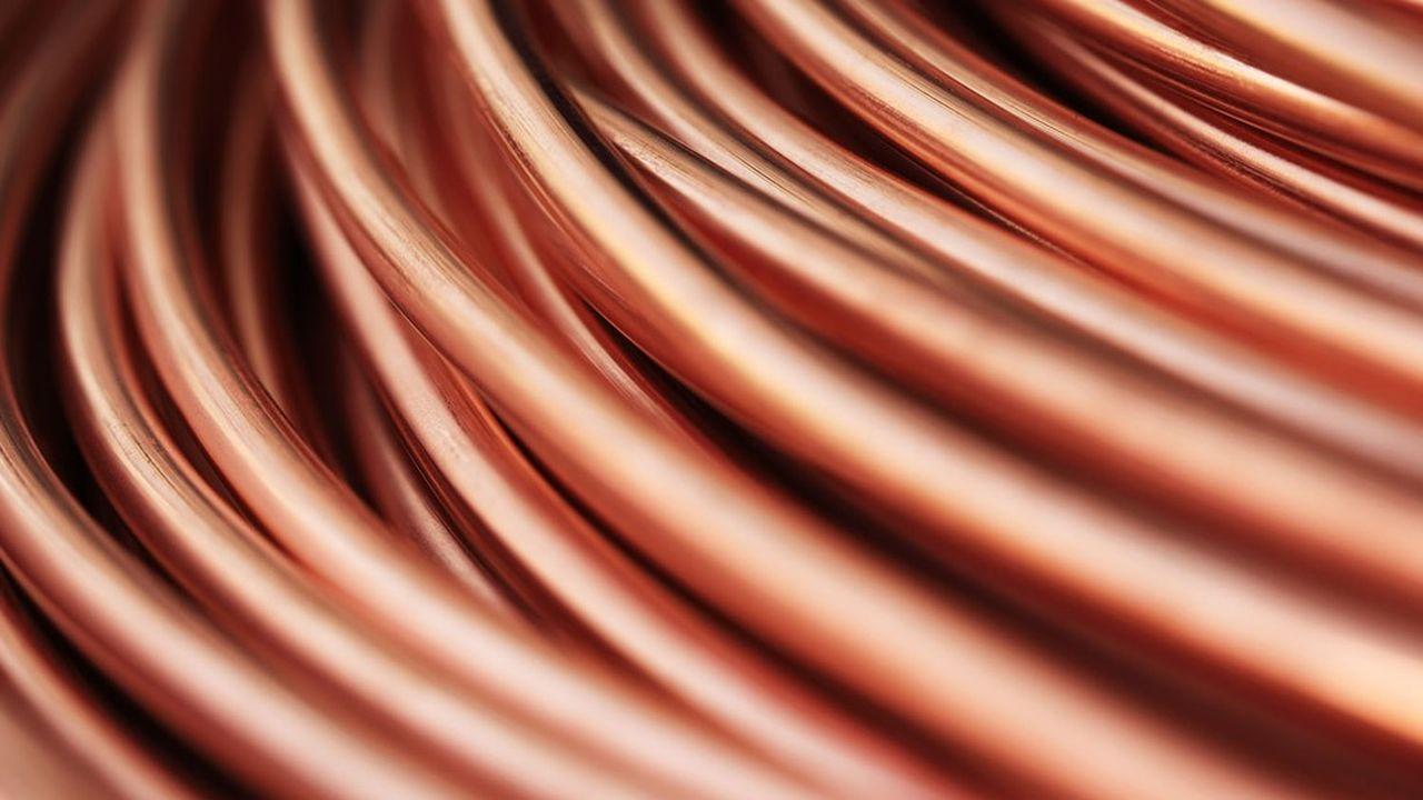 En raison de ses propriétés de conducteur électrique, le cuivre profite des annonces de «green deal».