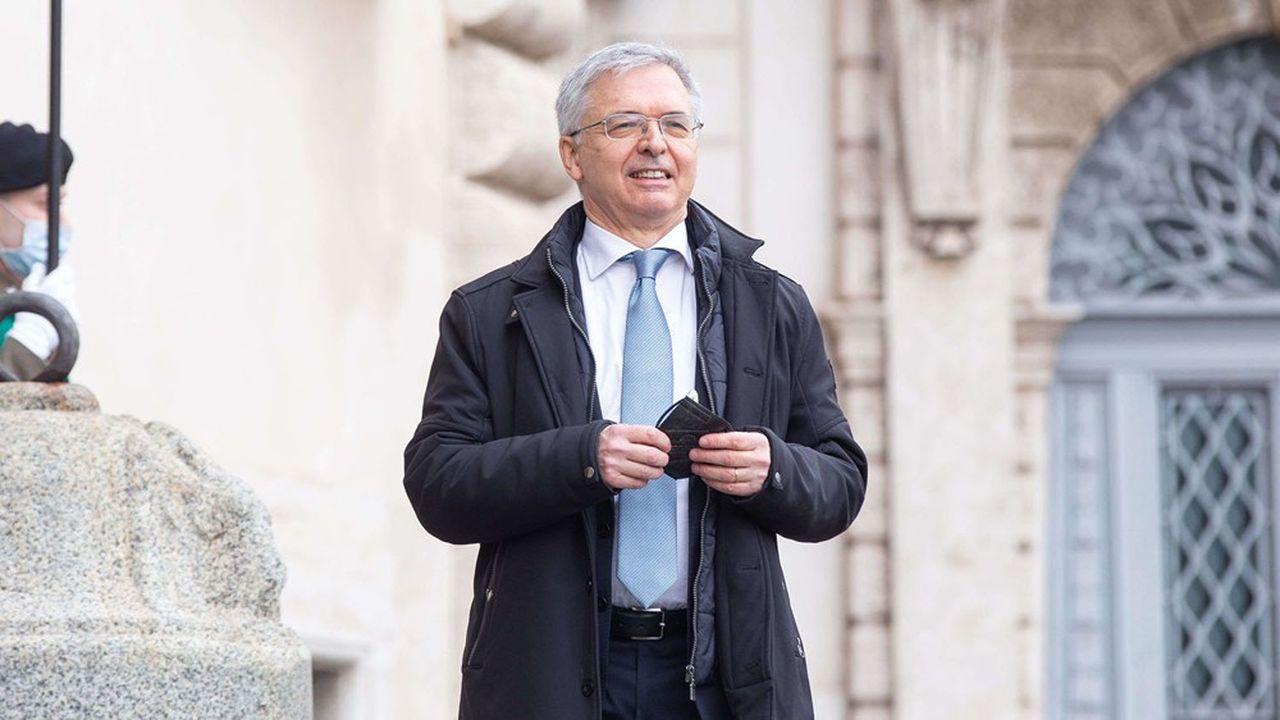 Mario Draghi a chargé Daniele Franco, l'actuel directeur général de la Banque d'Italie, du ministère de l'Economie, et donc de la mise en oeuvre du plan de relance européen.