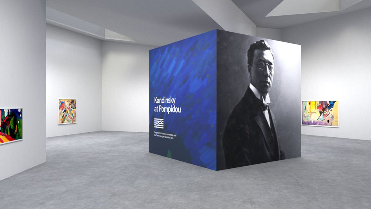 Jusqu'à la fin 2021, le Centre Pompidou propose sur son site une batterie d'explorations de l'oeuvre de Kandinsky.