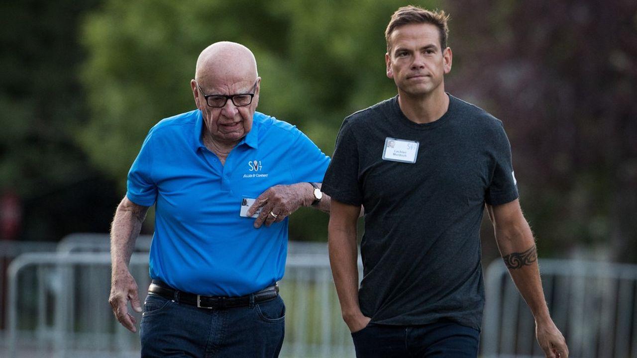 Le groupe de Rupert Murdoch et de son fils Lachlan remercie les autorités australiennes en annonçant l'accord.