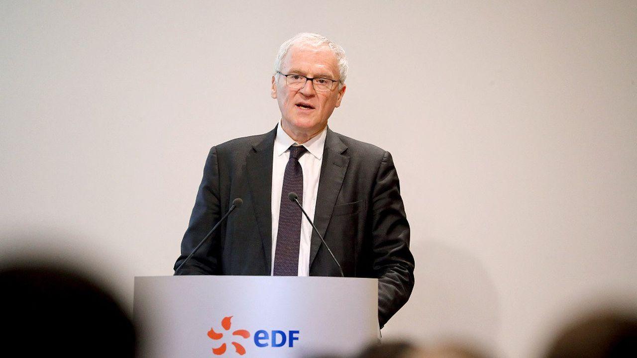« EDF risque d'être relégué en deuxième division », prévient son PDG - Les Échos
