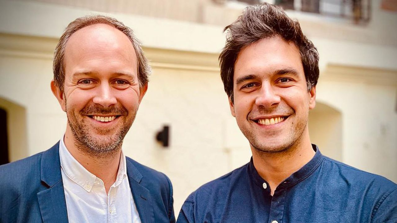 Gautier et Charles sont les cofondateurs de la fintech Iroko