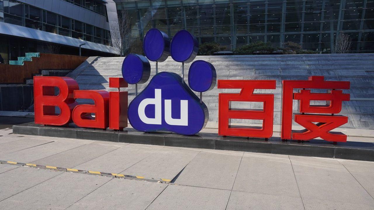 Basé à Pékin et cotéà New York, Baidu est le moteur de recherche dominant en Chine, d'où il tire l'essentiel de ses revenus.