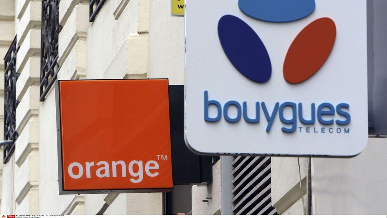Bouygues Telecom a mieux résisté qu'Orange en2020 face à la crise.
