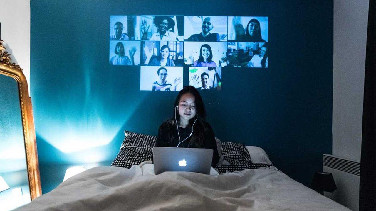 Dès le premier confinement, la visio s'est généralisée, dans le monde du travail comme pour les usages privés, ouvrant un nouveau champ de bataille aux acteurs de la tech.