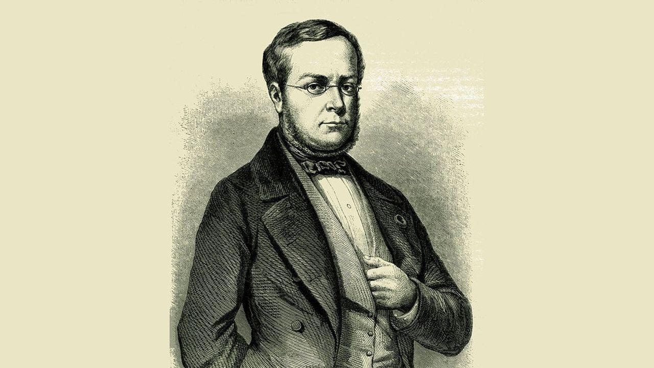 Camillo Benso (1810-1861), Conte di Cavour, statista italiano.  Un esempio per Draghi.