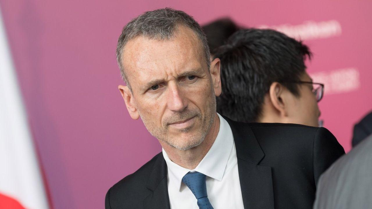 Le mandat d'Emmanuel Faber, PDG de Danone court encore pour un an sauf décision de crise.